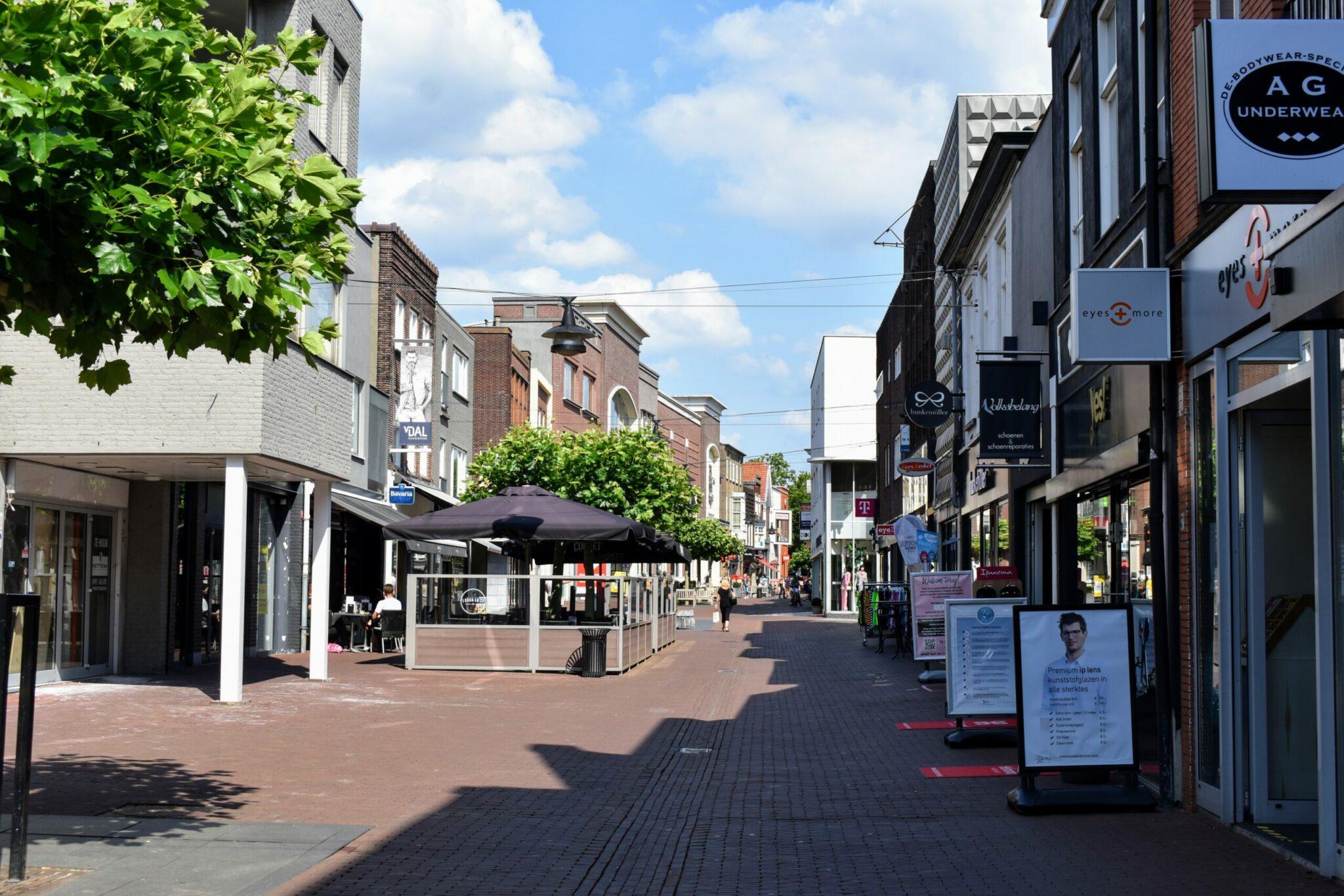 Helmond centrum winkelen Veestraat