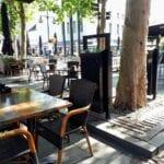 Zwarte bakken centrum bomen (1)