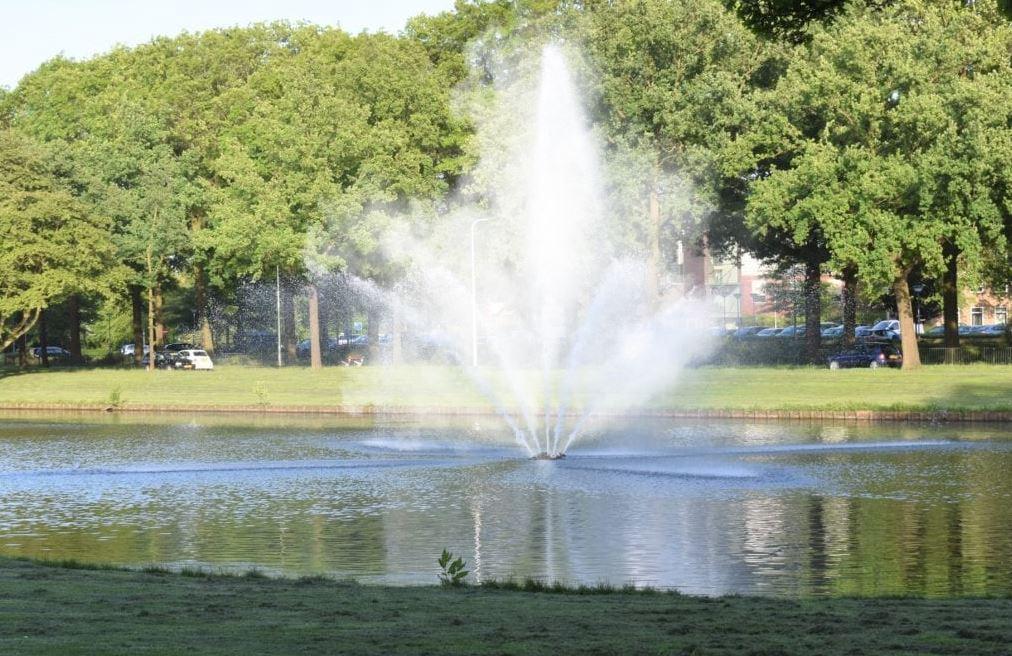 Warande park Helmond hittegolf warm geiser