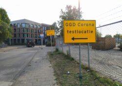 Corona test straat Helmond
