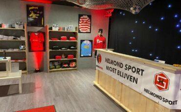 Helmond Sport opent pop-up store 3