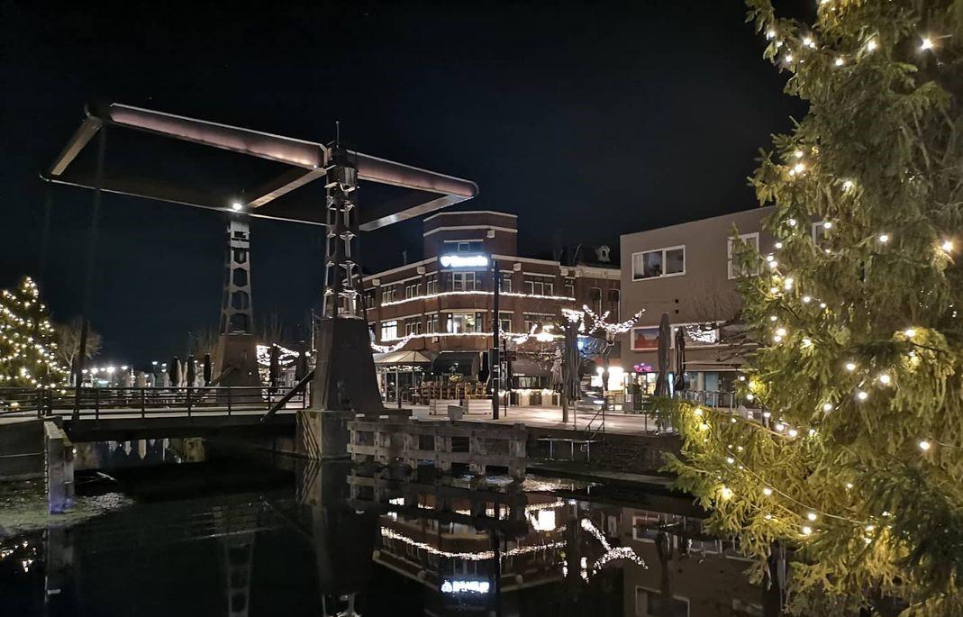 Winkelen haven Helmond winter