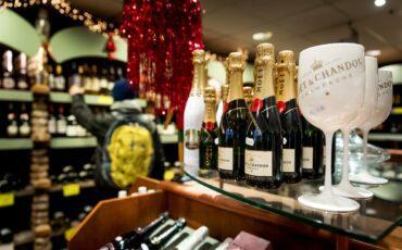 ANP-367991165 champagne oudjaar nieuwjaar