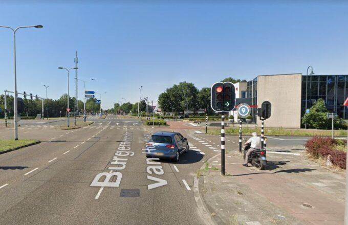 Verkeerslichten Burgemeester van Houtlaan Helmond