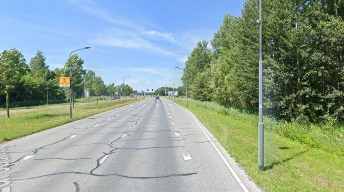 Flitspalen Helmond Europaweg