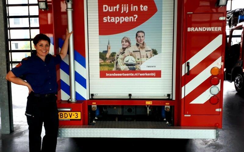 brandweervrouw