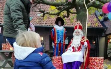 Sinterklaas drive-thru