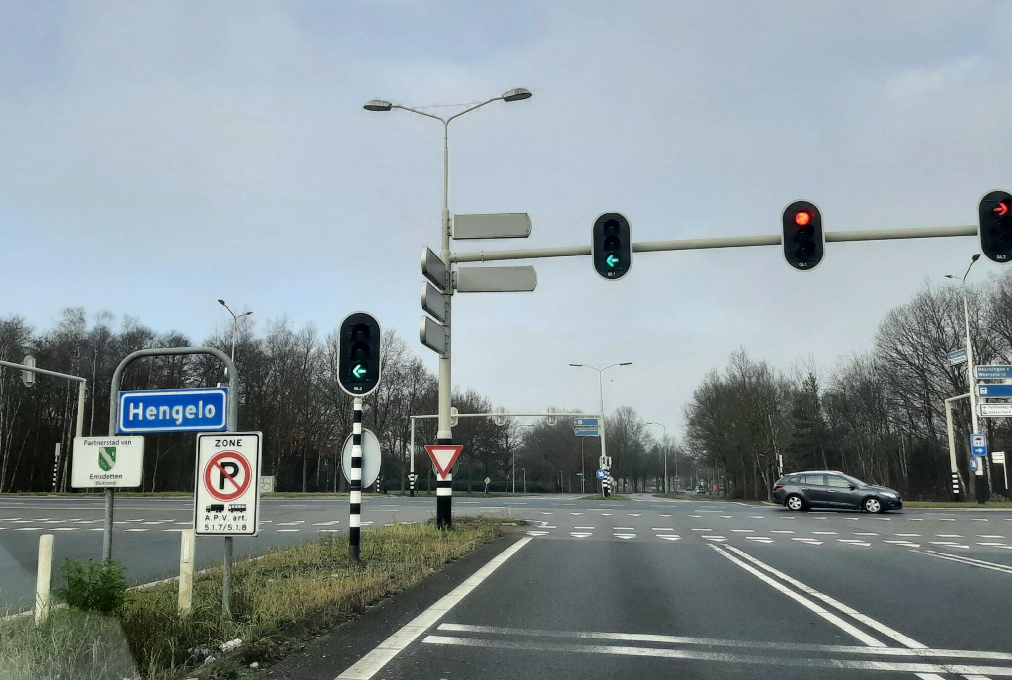 verkeerslichten Hengelo