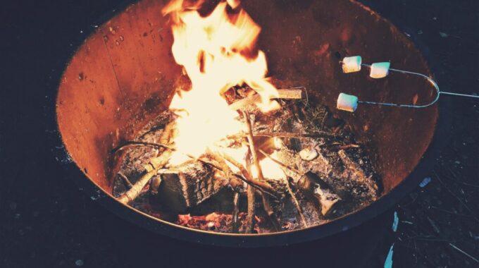 vuurtje stoken vuurkorf
