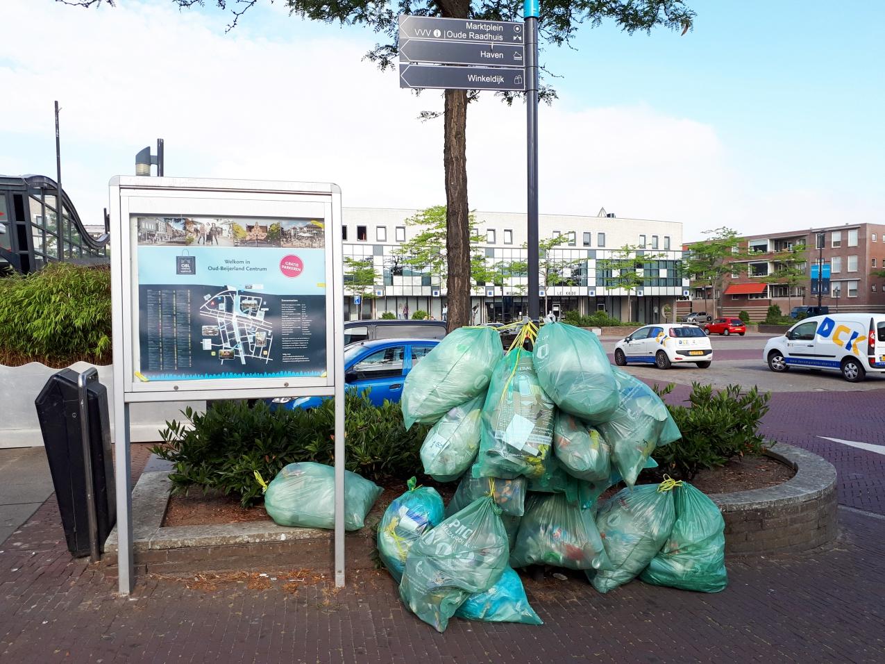 pmd-zakken-plastic-afval-inzamelen