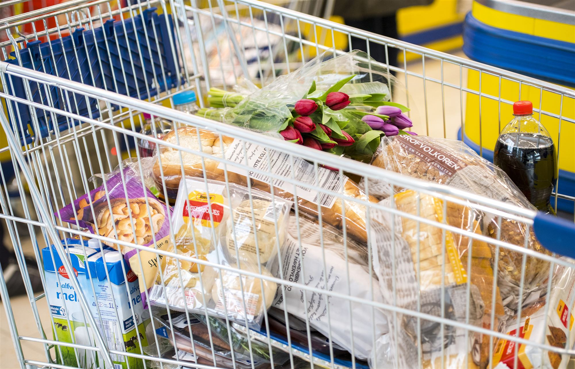 Lidl supermarkt Strijen boodschappen