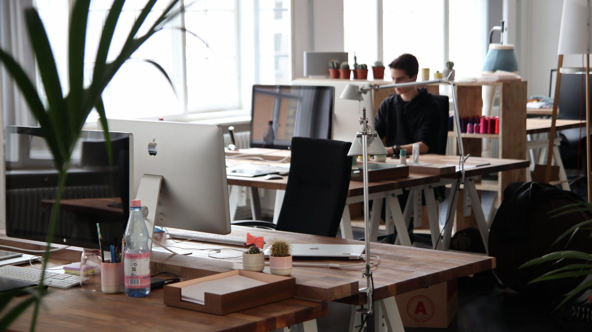 kantoor werken vacature computer