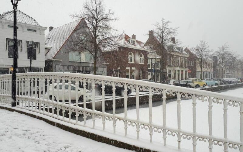 sneeuw oud-beijerland
