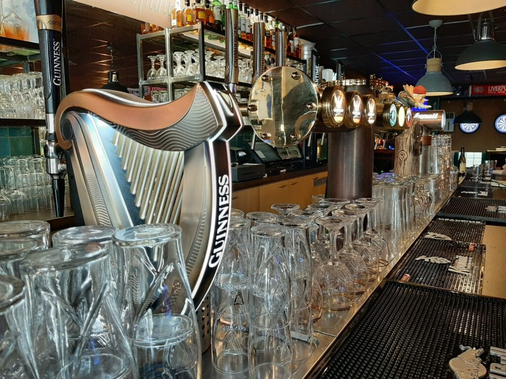 The Harbour Pub Guinness tap