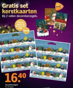 Decemberzegels Albert Heijn 2019