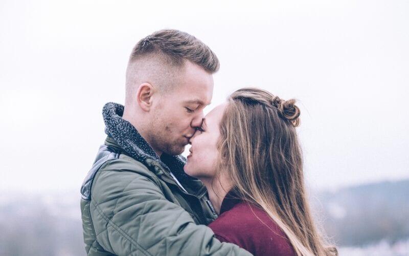 liefde kus
