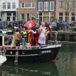 Sinterklaasintocht Oud-Beijerland 2019 Zwarte Piet en Sinterklaas