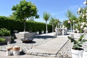 zuid europese tuin zomer