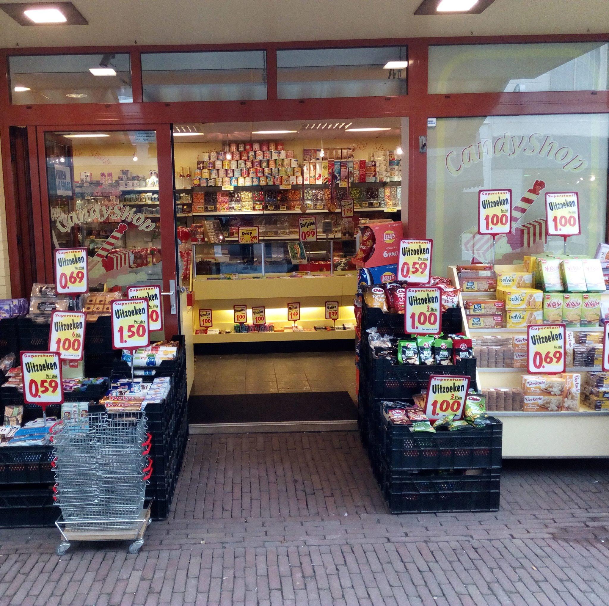 Candyshop Oud-Beijerland snoepwinkel