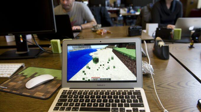 Minecraft workshop bibliotheek Hoeksche Waard