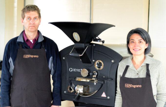 Guadalupe en Dennis - Engrano coffee koffie Numansdorp Hoeksche Waard vers gebrand eerlijk