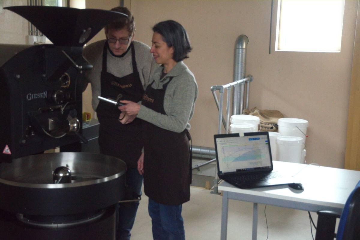 Engrano coffee koffie - Numansdorp Hoeksche Waard vers gebrand eerlijk Guadalupe en Dennis