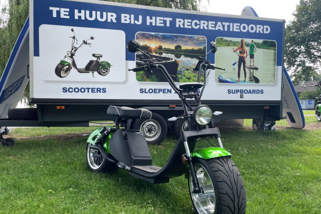 Bres Accommodaties Recreatieoord Binnenmaas verhuur supboards sloepen en e-scooters (1)
