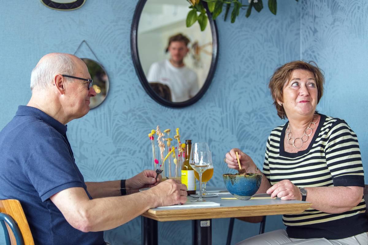 Soffree on Fifty-Four Oud-Beijerland shared dinner diner lunch in de Hoeksche Waard