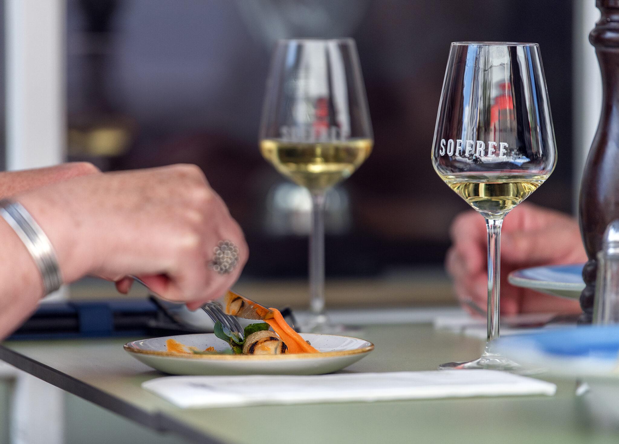 Soffree on Fifty-Four Oud-Beijerland shared dinner diner lunch Hoeksche Waard terras eten