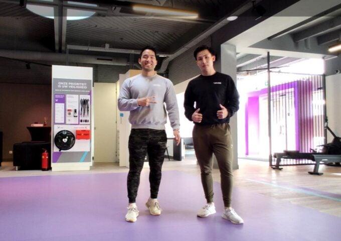 Chen en Johnnie van Anytime Fitness Numansdorp