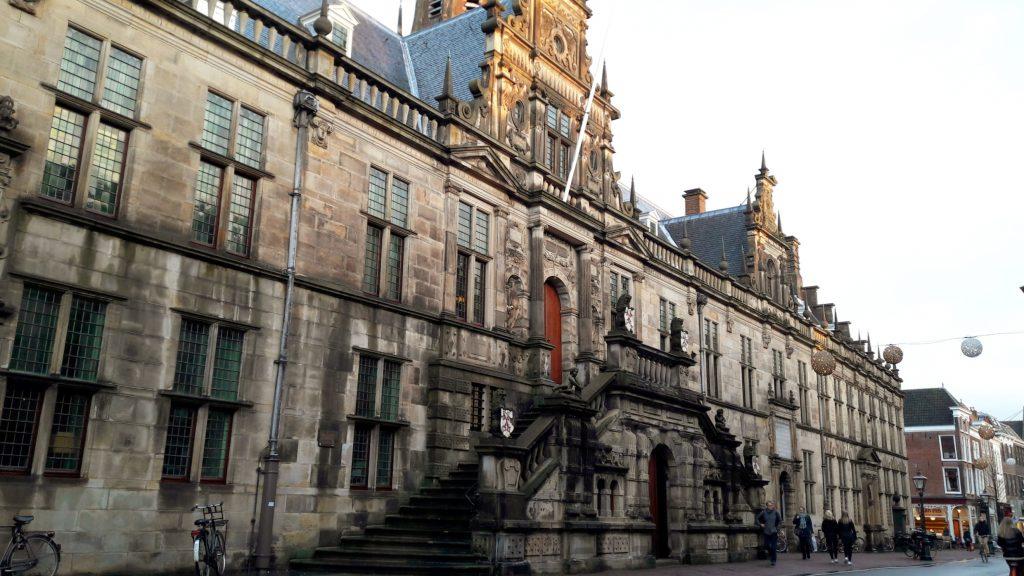 Gemeentehuis stadhuis Leiden