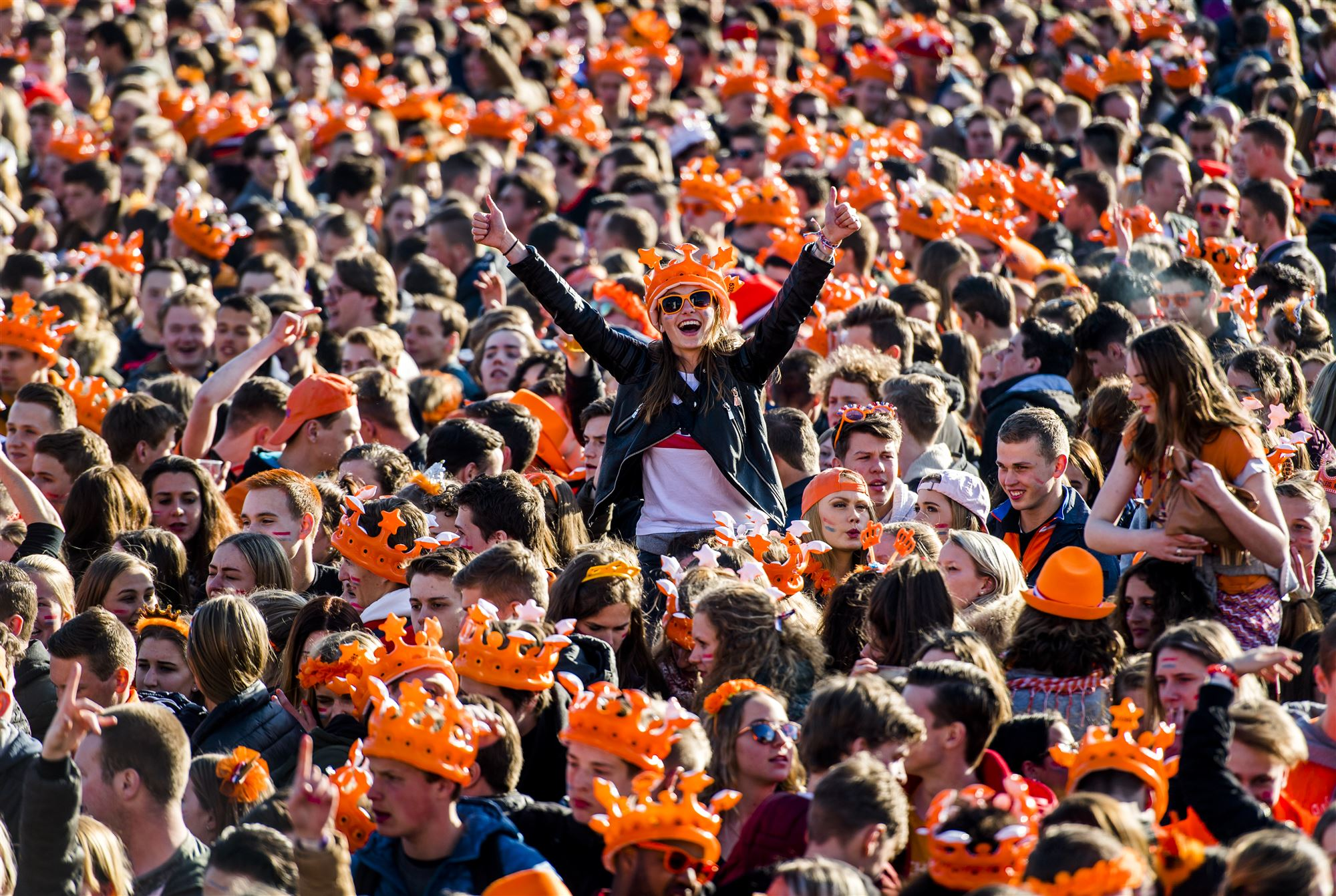 Koningsdag koningsnacht oranje feest