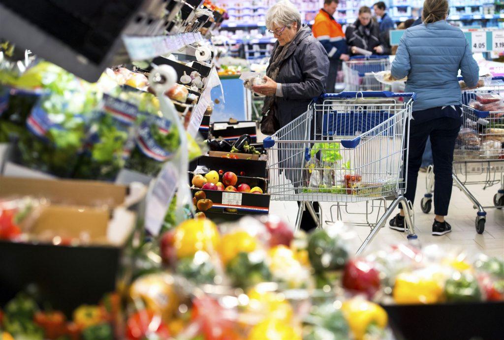 Boodschappen winkelen supermarkt