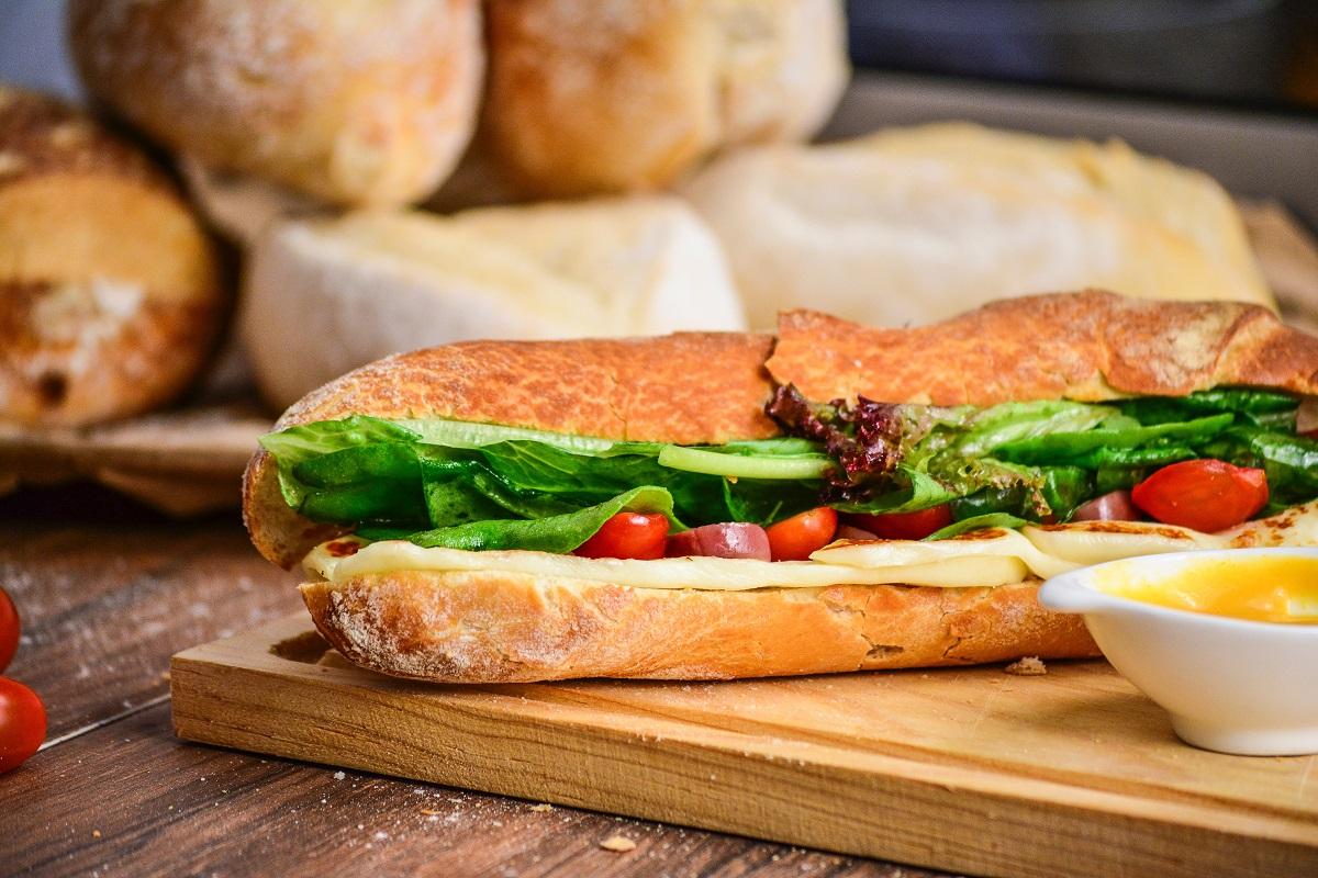Broodje lunch brood sandwich