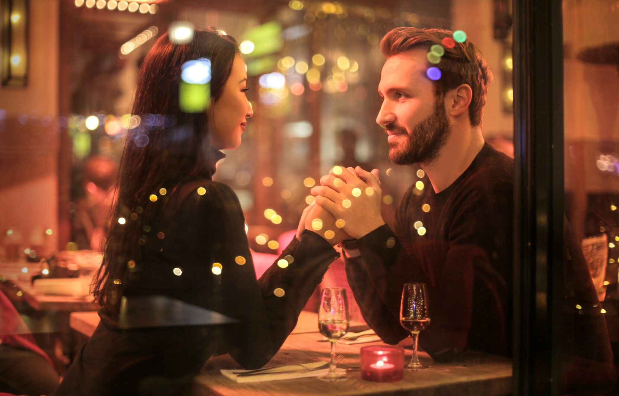date romantisch dineren eten