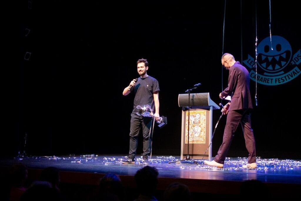 winnaar leids cabaret festival