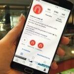 telefoon instagram indebuurt leiden