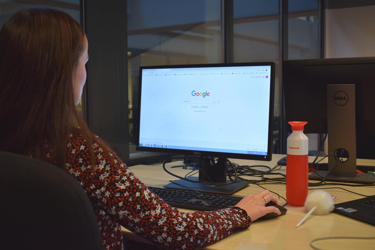 indebuurt google computer laptop werken