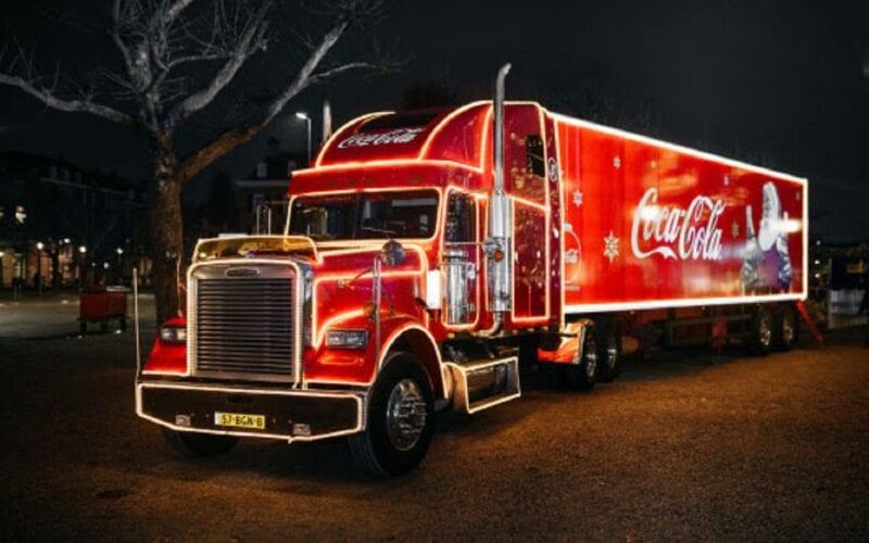 coco-cola kersttruck