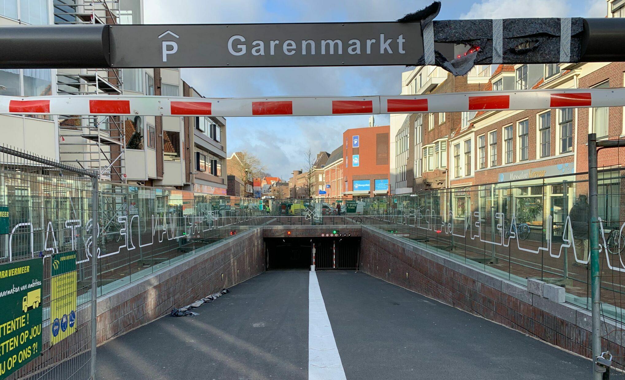 Garenmarkt parkeergarage
