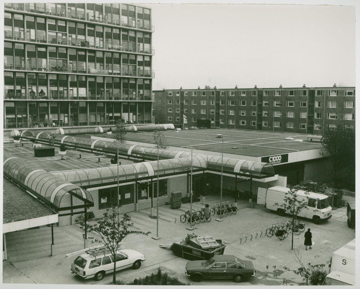 Supermarkt C1000 Diamantplein 1983 Erfgoed Leiden en Omstreken