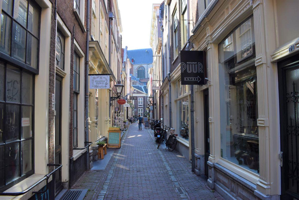 Winkelen Pieterskerk Choorsteeg