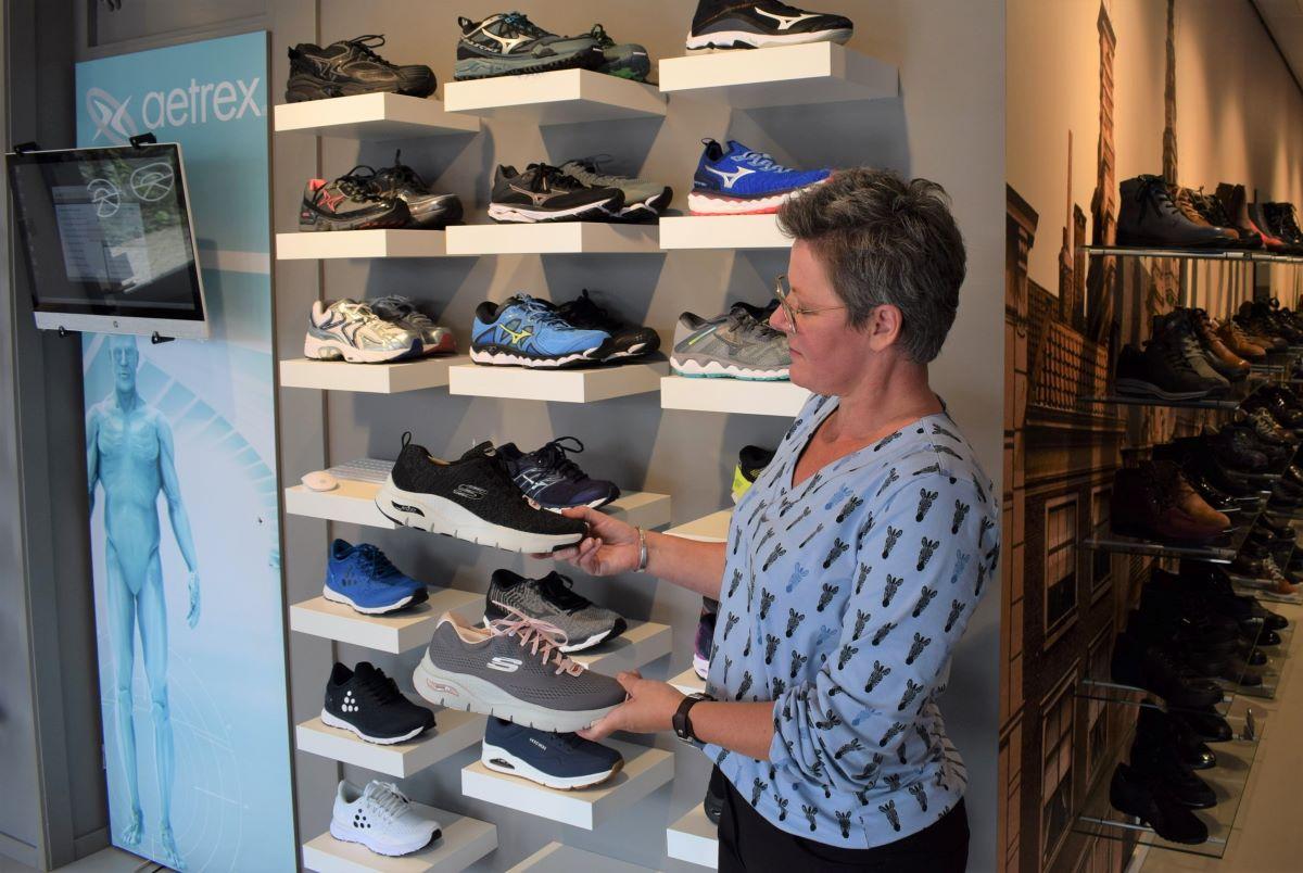 Loopcentrum Rijnland Leiderdorp schoenen Yvette