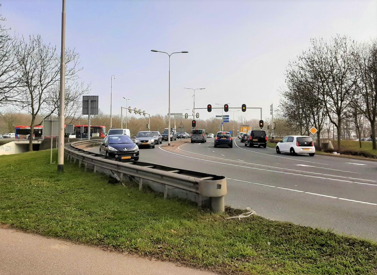 Lammenschansplein verkeerslichten