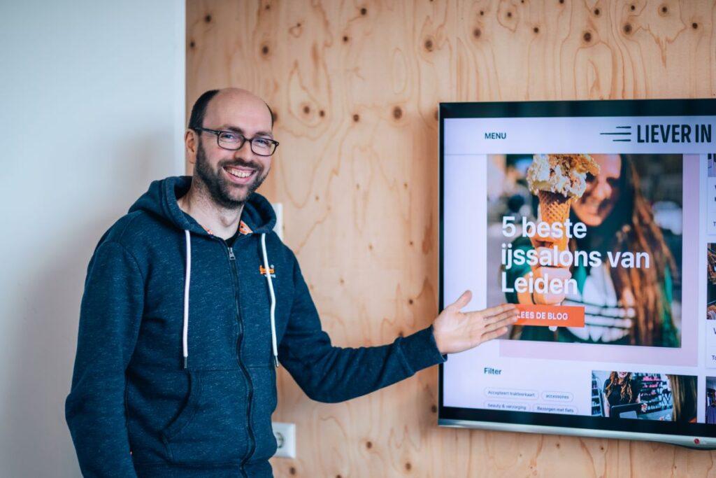 Centrummanager Gijs Holla