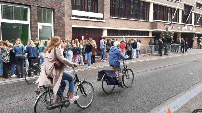 Op de fiets Minerva EL CID 2021 Breestraat