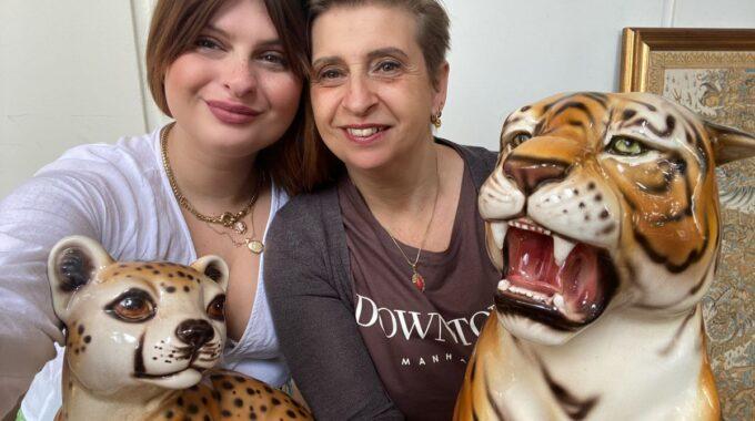 Maaike en Margreet Mama Tigre Vintage
