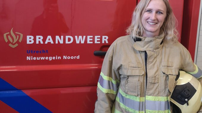 Brandweervrouw Hanneke