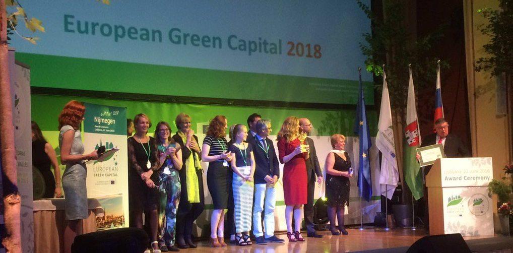 Green capital award Nijmegen