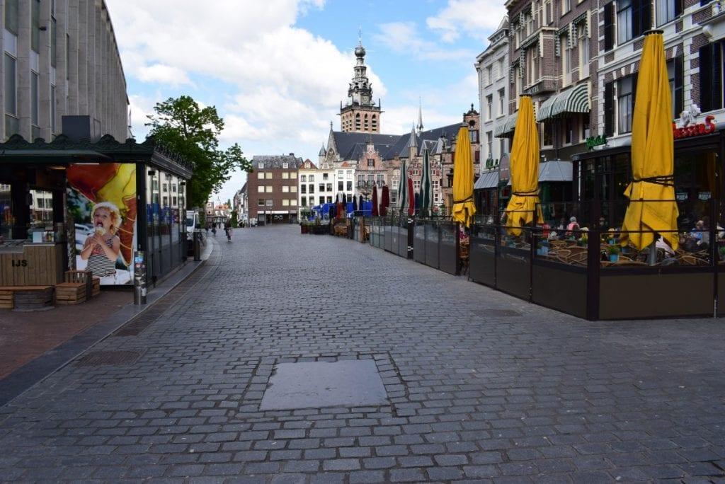 Blauwe steen Nijmegen